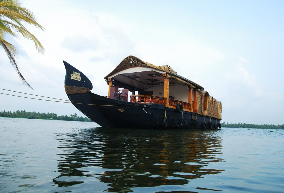 Alleppey Houseboat Front View